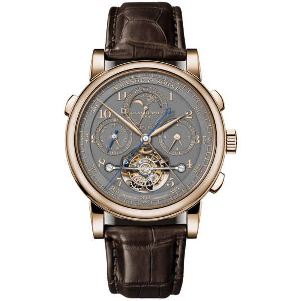 "TOURBOGRAPH PERPETUAL HONEYGOLD ""Homage to F. A. Lange"" 706.050"
