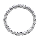 18k White Gold Diamond Eternity Band