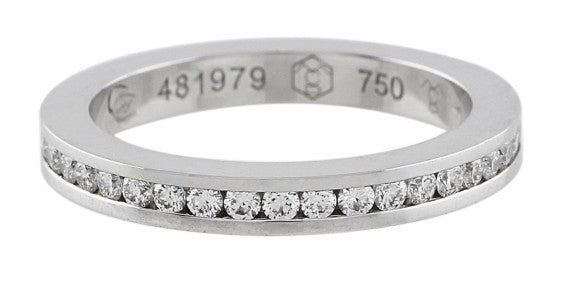 Estate Carrera Y Carrera Mi Princesa White Gold and Diamond Band