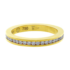 18kt Yellow Gold Diamond Eternity Band