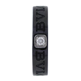 Bulgari Bulgari Black Ceramic Diamond Band