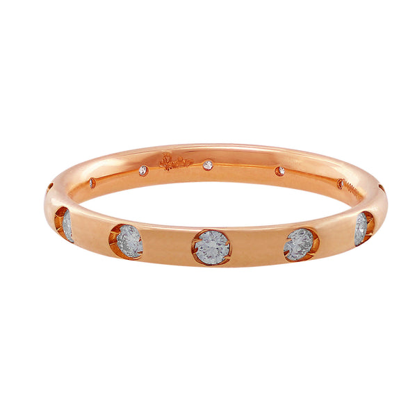 Pomellato Diamond Rose Gold Band
