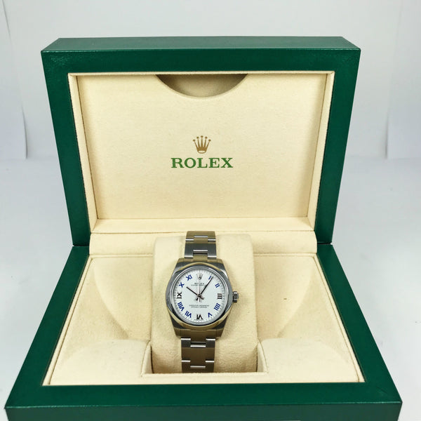 Rolex Oyster Perpetual Stainless Steel 31mm 177200 - Pre-Owned