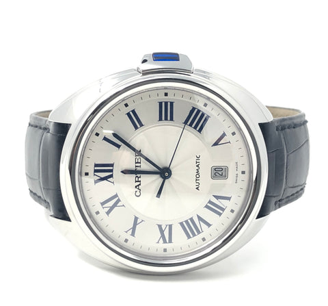 Cartier Clé de Cartier 40mm Stainless Steel WSCL0018 - Certified Pre-Owned