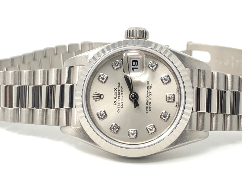 Rolex Datejust 18K White Gold 26MM 69179 - Pre-Owned