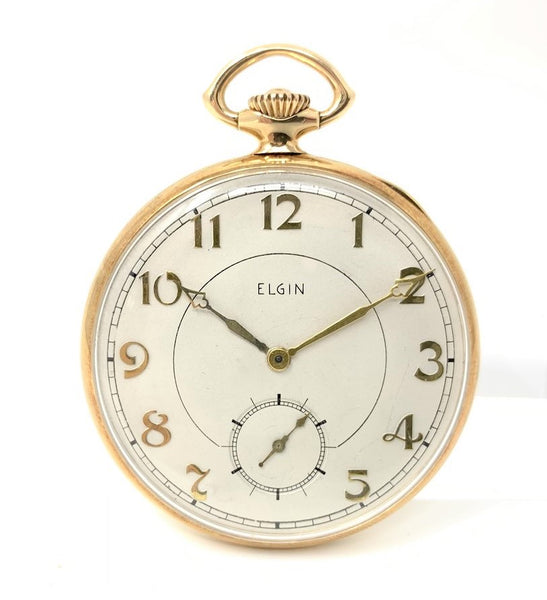 Elgin Pocket Watch 14K Yellow Gold - Certified Pre-Owned