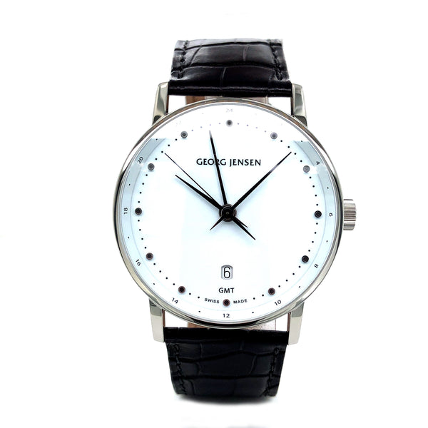 Georg Jensen Koppel 41MM Steel 004699 - Certified Pre-Owned
