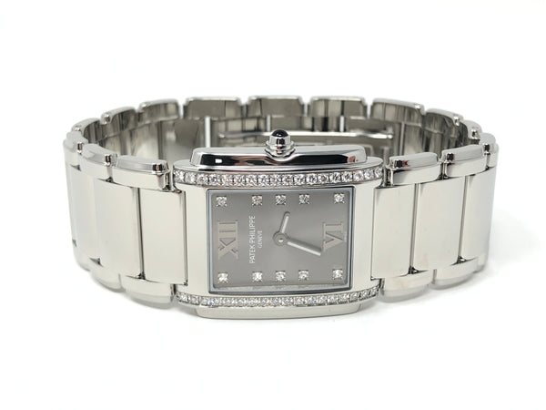 Patek Philippe Twenty~4 Stainless Steel Diamond Dial - Certified Pre-Owned