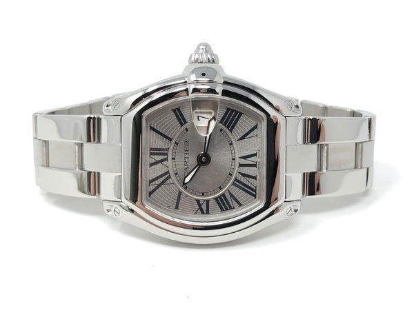 Cartier Roadster Steel 30MM Quartz W62016V3 - Certified Pre-Owned