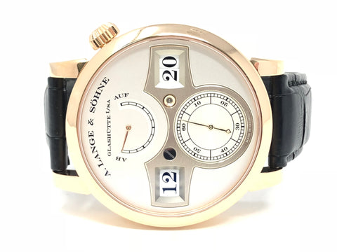 A. Lange & Söhne Zeitwerk 18KT Rose Gold 140.032-Certified Pre-Owned