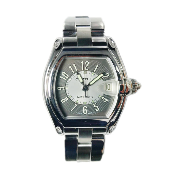 Cartier Roadster Stainless Steel 37mm 2510-Certified Pre-Owned
