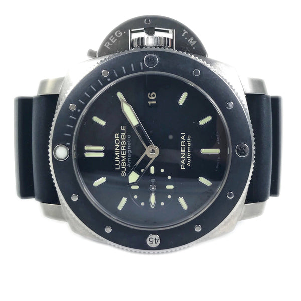 Panerai Luminor Submersible Amagnetic 1950 47MM Titanium PAM 389 - Certified Pre-Owned