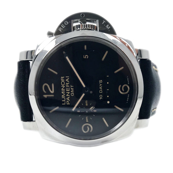 Panerai Luminor 1950 44MM Steel 10 Days GMT PAM 533 - Certified Pre-Owned