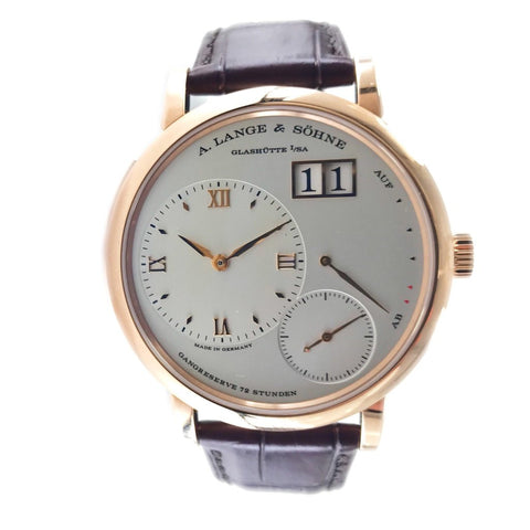 A Lange & Sohne Grand Lange 1 18K Rose Gold Manual 117.032 - Certified Pre-Owned