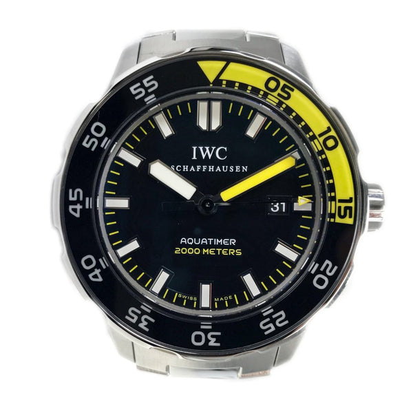 IWC Aquatimer 2000 44MM Steel Black & Yellow IW356801 - Certified Pre-Owned