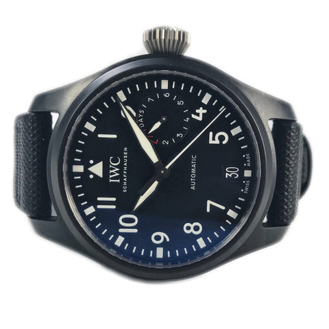IWC Big Pilot Top Gun 46mm Black Ceramic IW502001 - Certified Pre-Owned