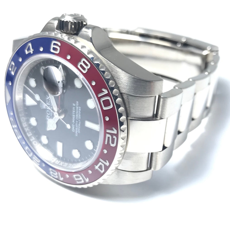 "Rolex GMT Master II ""Pepsi"" White Gold Black Dial 116719 - Pre-Owned"