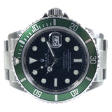"Rolex Submariner ""Kermit"" M Serial 40mm 16610LV - Pre-Owned"