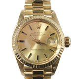 Rolex Oyster Perpetual Lady Datejust 18K Yellow Gold 79178 - Pre-Owned
