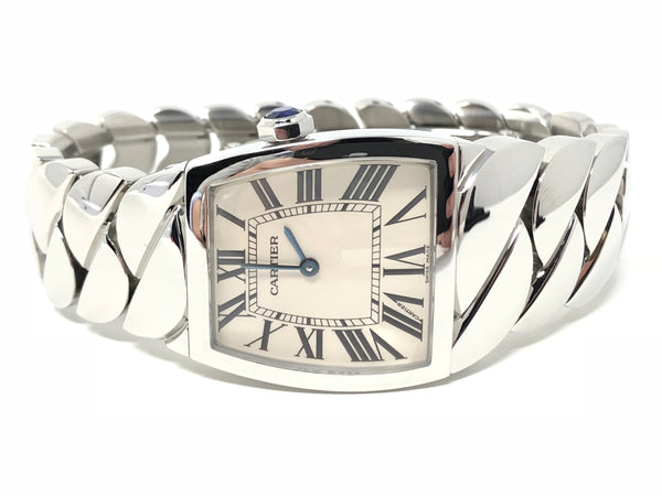 Cartier La Dona Stainless Steel Large 23MM Quartz W6600121 - Certified Pre-Owned