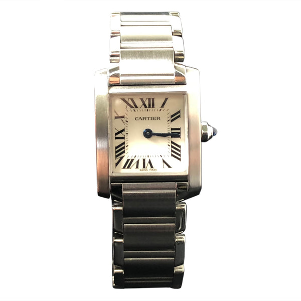 Cartier Tank Francaise Automatic Womens Watch W51008Q3-Certified Pre-Owned