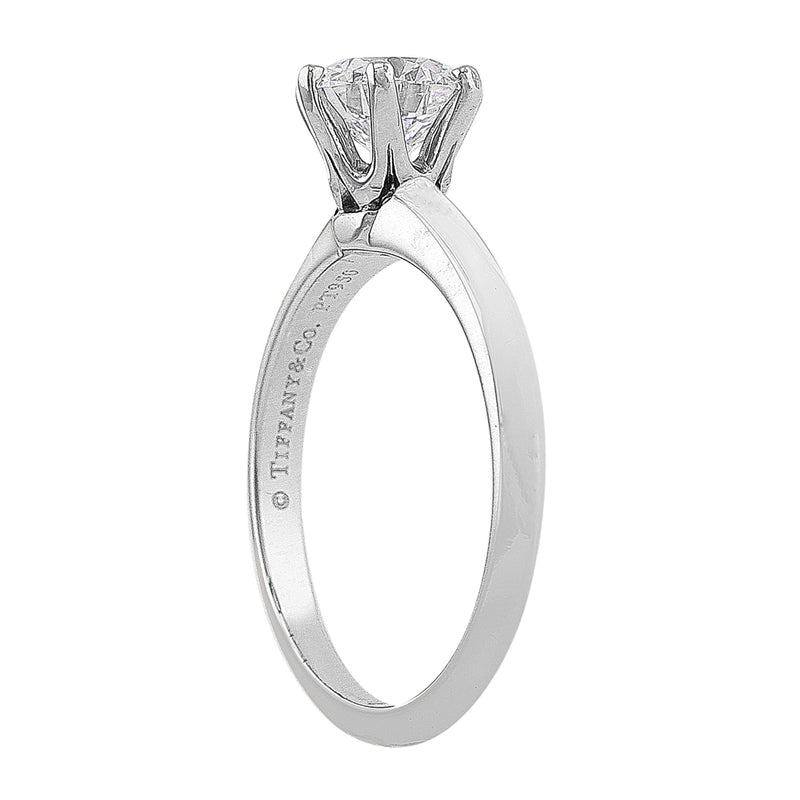 Estate 1.04ct Tiffany & Co. Diamond Ring, GIA-certified