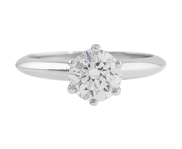 Tiffany & Co 1.01CT Diamond Ring