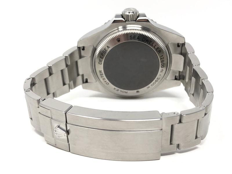 Preowned Rolex James Cameron Deep Sea Sea-Dweller Steel 44MM 116660 - back clasp