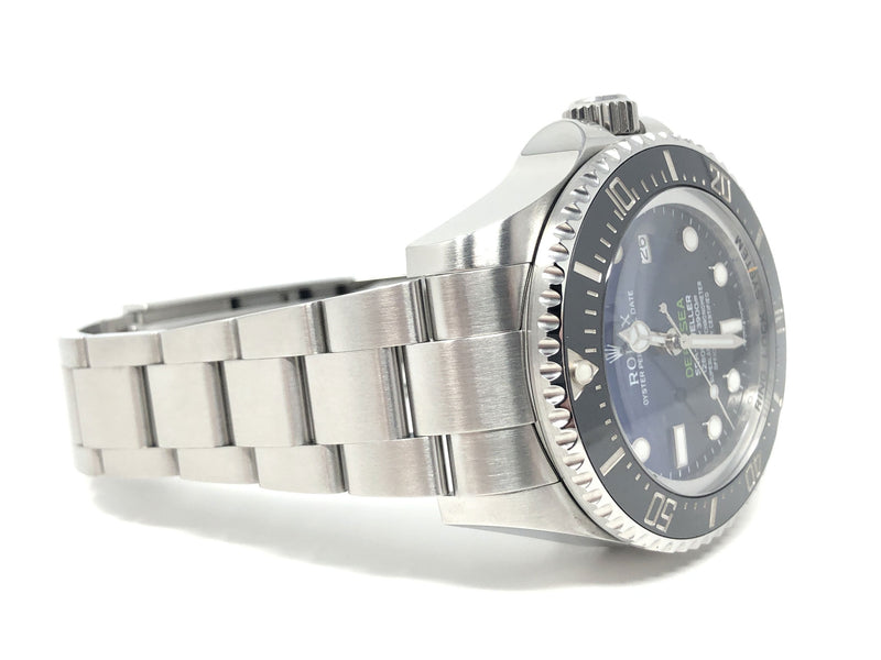 Preowned Rolex James Cameron Deep Sea Sea-Dweller Steel 44MM 116660 - back strap