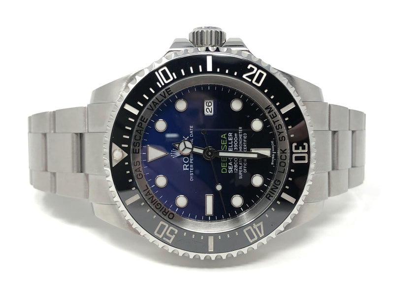 Preowned Rolex James Cameron Deep Sea Sea-Dweller Steel 44MM 116660 - side view