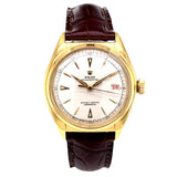 Rolex Oyster Perpetual Bubble Back 18K Yellow Gold 36MM 5030 - Pre-Owned