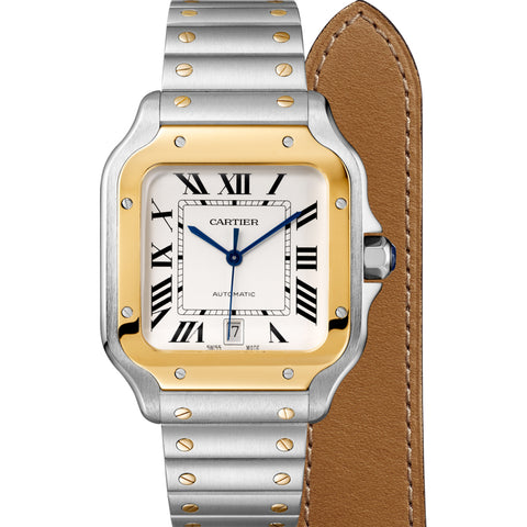 Santos de Cartier Watch LM W2SA0006
