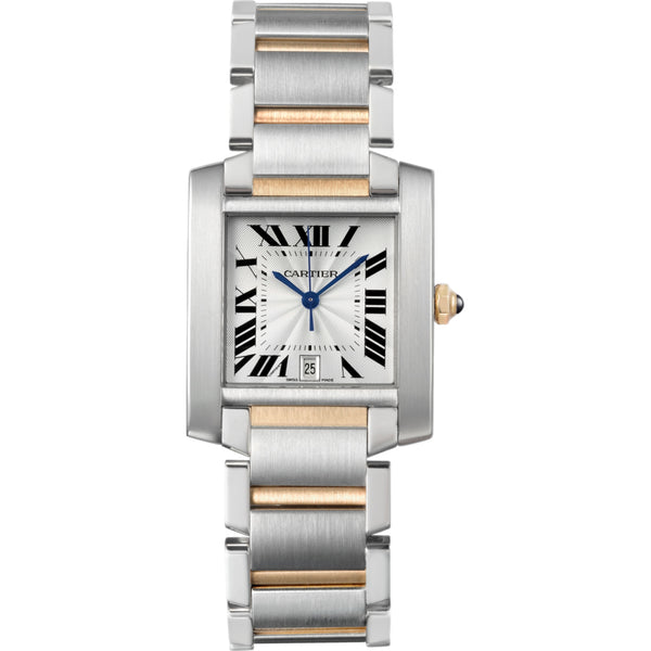 Cartier Tank Française watch, large model W51005Q4