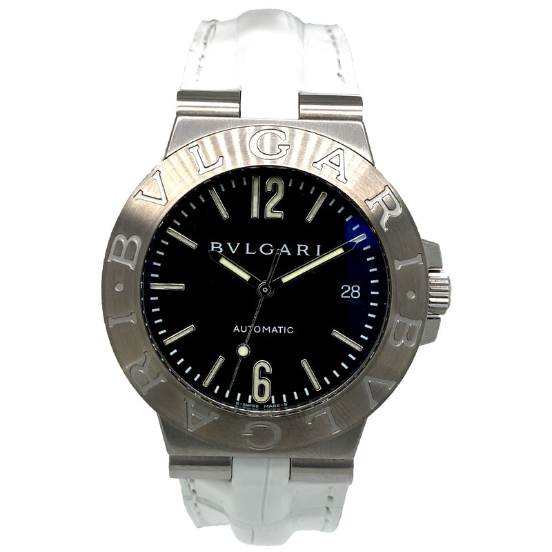 Bvlgari Bvlgari 38mm Stainless Steel Automatic - Pre-Owned