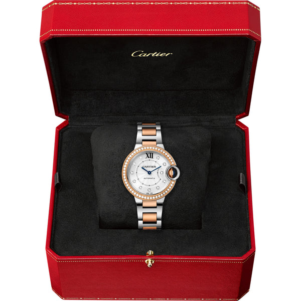 Ballon Bleu de Cartier watch, 33mm WE902077
