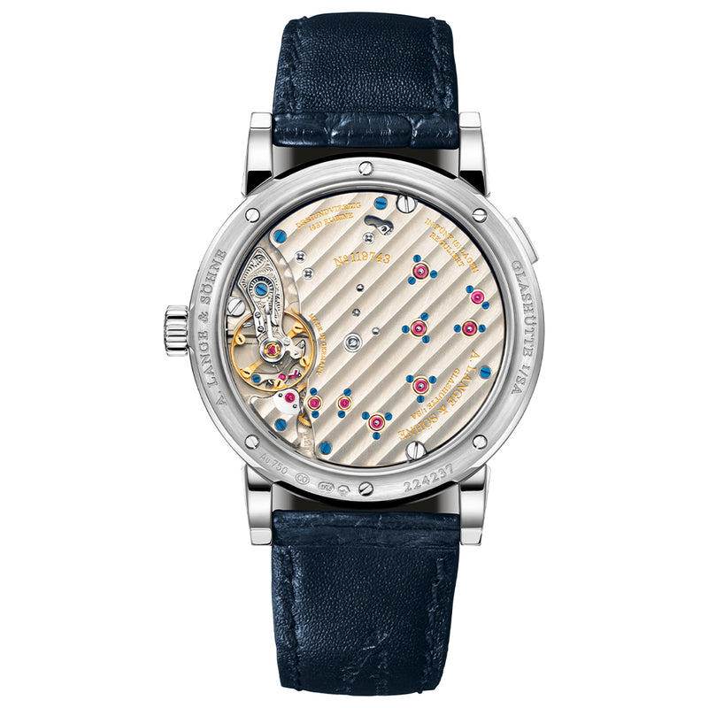 A. Lange & Söhne White gold with dial in deep-blue - 191.028