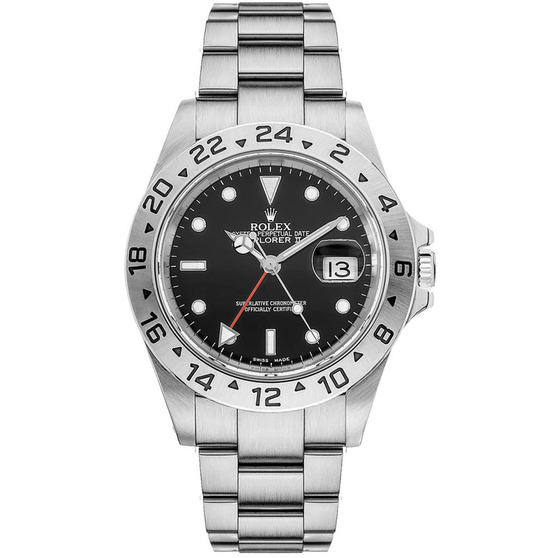 Rolex Explorer II Stainless Steel 40mm 16570 - Pre-Owned