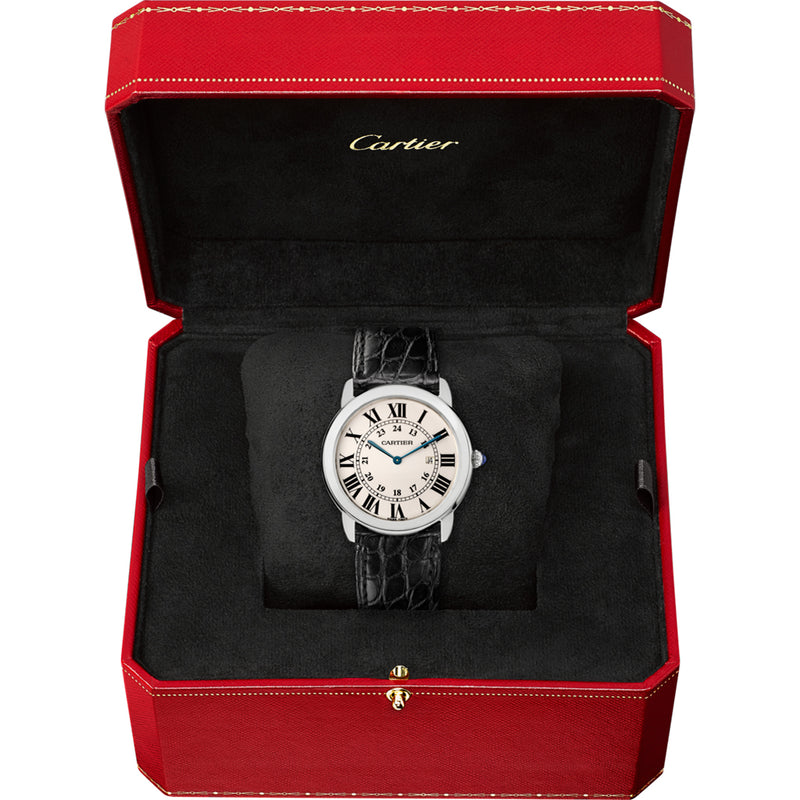 Ronde solo de Cartier watch, large model W6700255