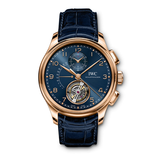 PORTUGIESER TOURBILLON RÉTROGRADE CHRONOGRAPH BOUTIQUE EDITION IW394005