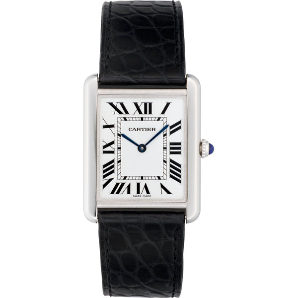 Cartier Tank solo watch, large model W5200003
