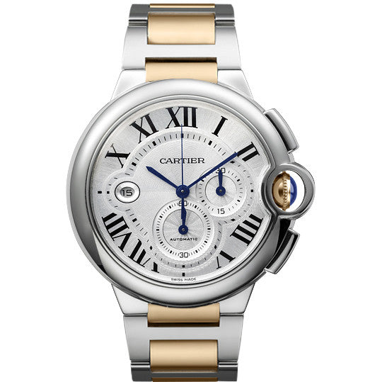 Ballon Bleu de Cartier chronograph watch, extra-large model W6920063
