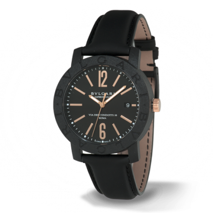 Bulgari Bulgari 40mm Men's Carbon Watch BBP40BCGLD