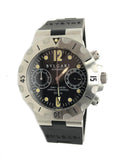 Bulgari Diagono Chronograph Scuba Steel 38MM - Certified Pre-Owned