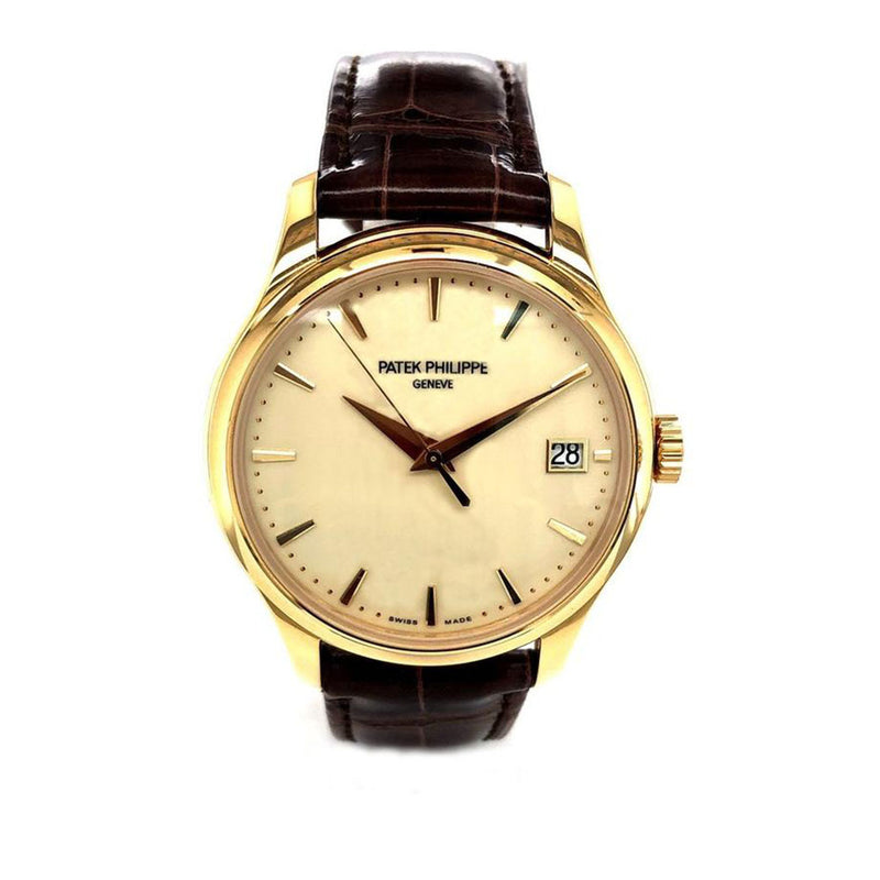 Patek Philippe Calatrava 39mm 18K Yellow Gold 5227J-001 - Pre-Owned