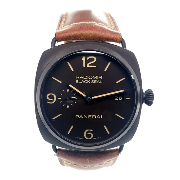 Panerai Radiomir Composite Black Seal 3 Days Automatic PAM00505- Pre-Owned