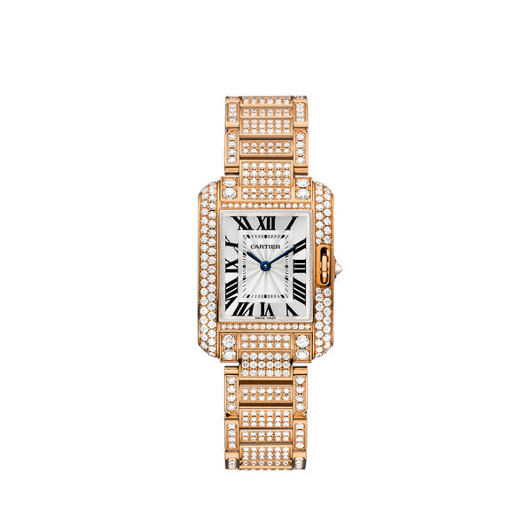 Cartier Tank Anglaise Watch, Small Model HPI00558