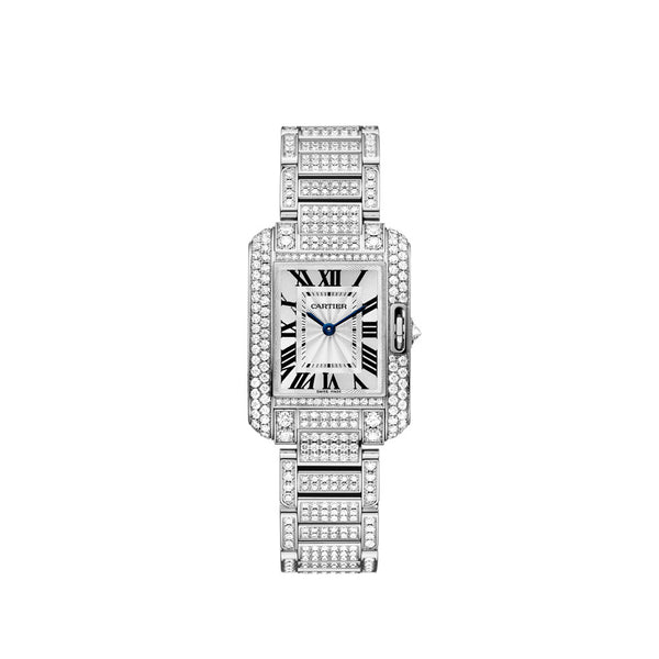 Cartier Tank Anglaise Watch, Small Model HPI00559