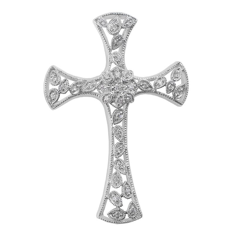 Filigree Diamond Cross