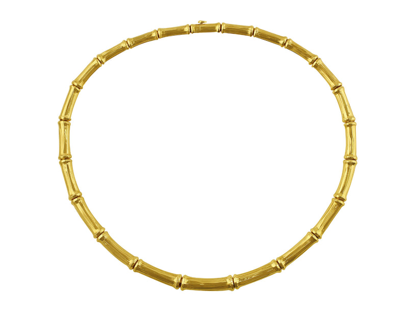 Cartier Bamboo Necklace 18k Yellow Gold