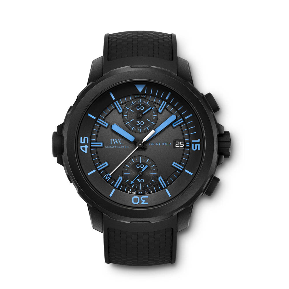 """Iwc aquatimer chronograph edition """"50 years science for galapagos."""